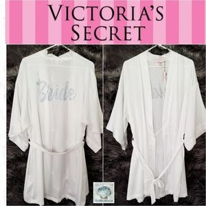 Victoria's Secret Bride Bling Robe One Size